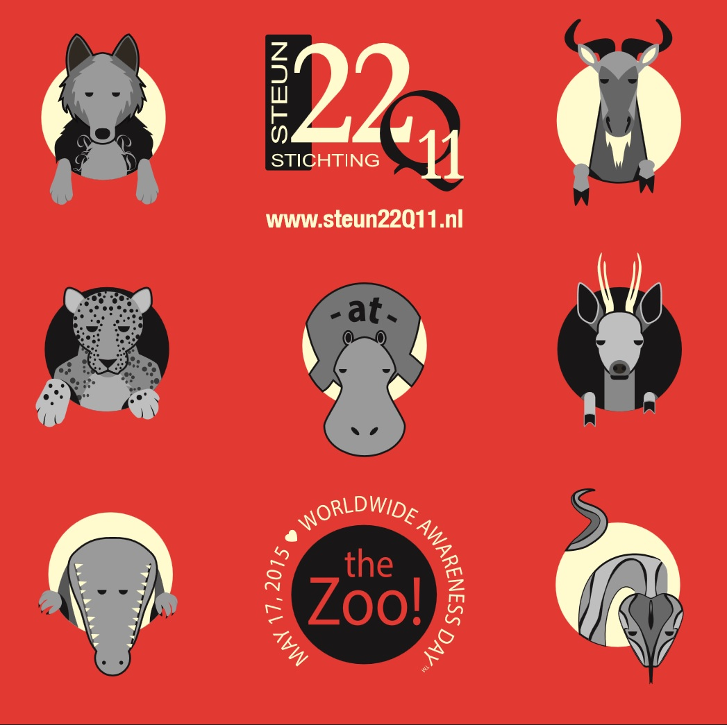 22Q at the zoo voorbeeld shirt